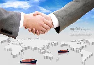 国际贸易のイメージ